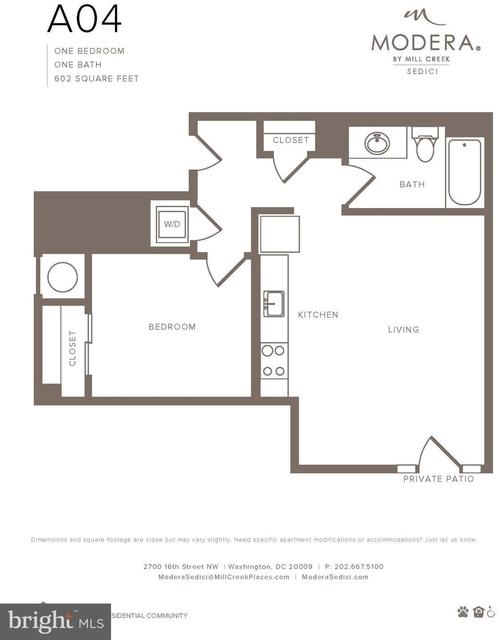 3 Bedrooms, Adams Morgan Rental in Washington, DC for $6,230 - Photo 2