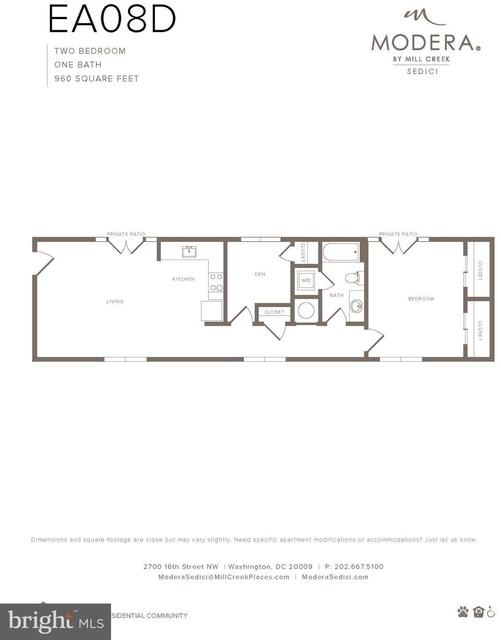 2 Bedrooms, Adams Morgan Rental in Washington, DC for $3,120 - Photo 2