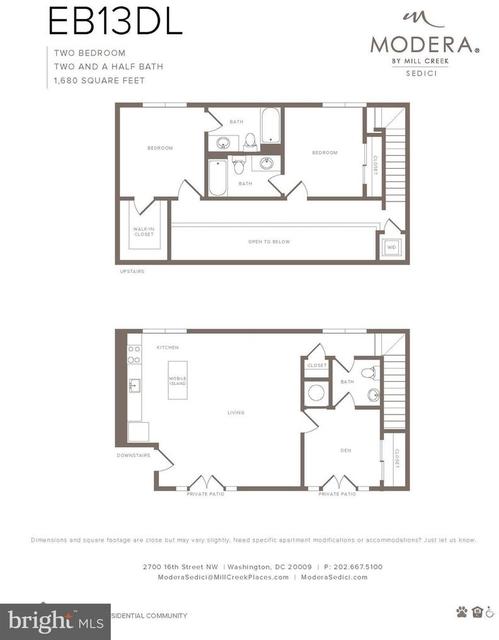 2 Bedrooms, Adams Morgan Rental in Washington, DC for $8,444 - Photo 2