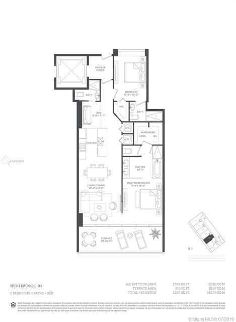 2 Bedrooms, Broadmoor Rental in Miami, FL for $3,900 - Photo 2
