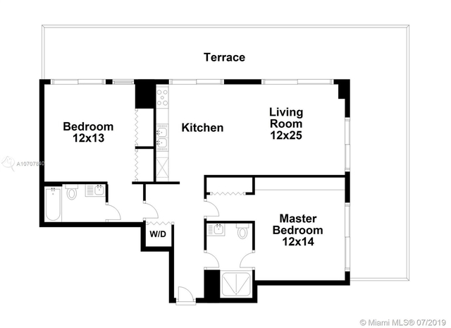 2 Bedrooms, Midtown Miami Rental in Miami, FL for $2,449 - Photo 2