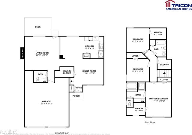 3 Bedrooms, Grove Park Rental in Atlanta, GA for $1,350 - Photo 2