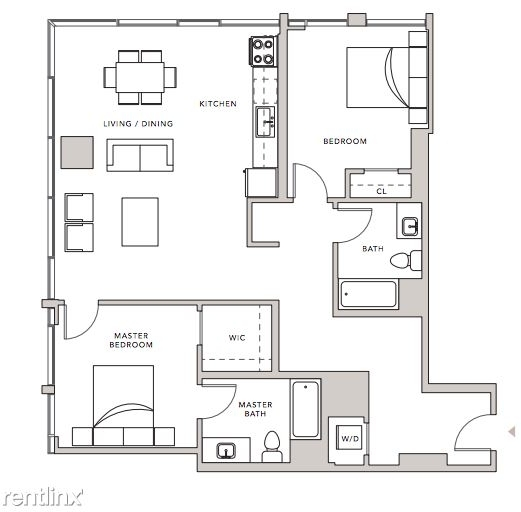 2 Bedrooms, South Park Rental in Los Angeles, CA for $4,415 - Photo 2