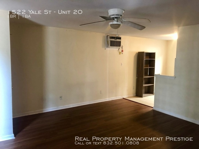 1 Bedroom, Greater Heights Rental in Houston for $775 - Photo 1