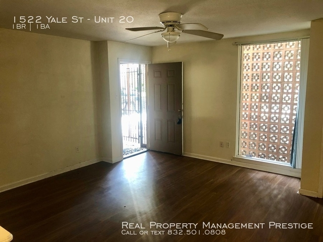 1 Bedroom, Greater Heights Rental in Houston for $775 - Photo 2