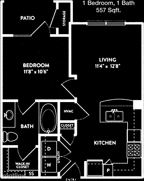 1 Bedroom, White Rock Valley Rental in Dallas for $1,005 - Photo 1