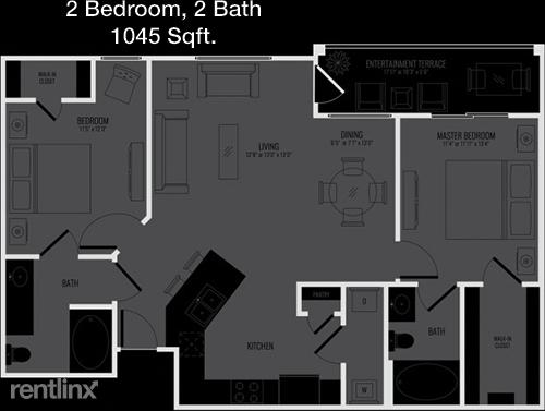 2 Bedrooms, Shoal Creek Rental in Dallas for $1,709 - Photo 1