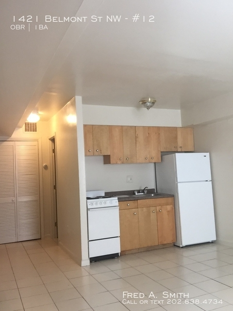 Studio, Columbia Heights Rental in Washington, DC for $1,325 - Photo 2