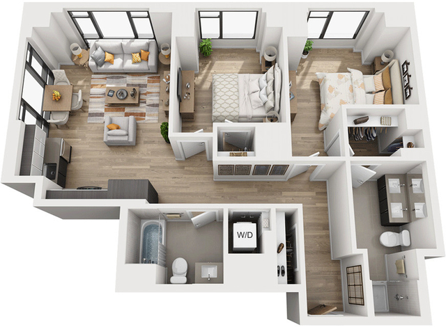 2 Bedrooms, Shawmut Rental in Boston, MA for $5,223 - Photo 1