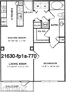 1 Bedroom, North Atlanta Rental in Atlanta, GA for $1,333 - Photo 1