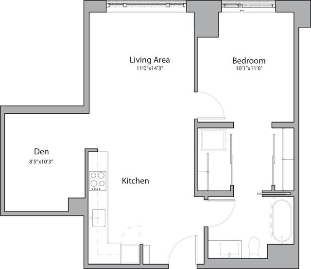 1 Bedroom, Shawmut Rental in Boston, MA for $3,175 - Photo 1
