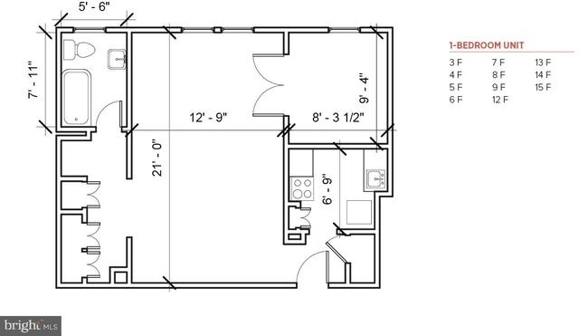 1 Bedroom, Center City West Rental in Philadelphia, PA for $1,585 - Photo 2