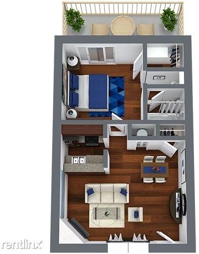 1 Bedroom, Timber Ridge Rental in Dallas for $770 - Photo 1
