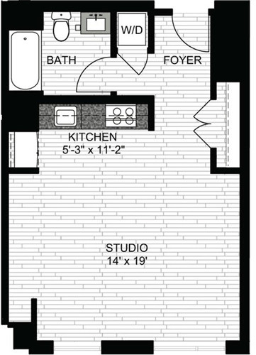 Studio, Downtown Boston Rental in Boston, MA for $2,740 - Photo 1