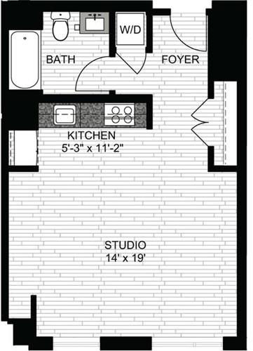 Studio, Downtown Boston Rental in Boston, MA for $2,605 - Photo 1