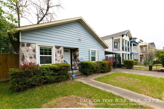 2 Bedrooms, Greater Heights Rental in Houston for $1,800 - Photo 1