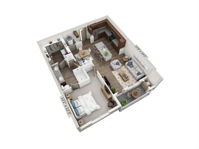 1 Bedroom, Arlington Rental in Dallas for $1,695 - Photo 2