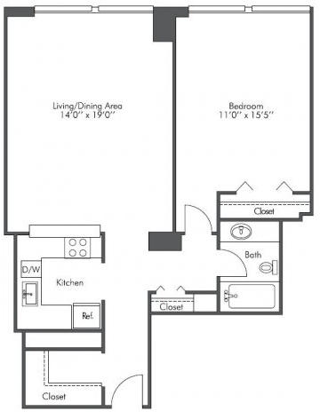 1 Bedroom, West Loop Rental in Chicago, IL for $1,815 - Photo 2