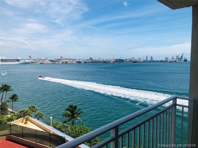 2 Bedrooms, Brickell Key Rental in Miami, FL for $2,600 - Photo 1