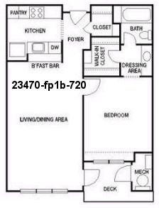 1 Bedroom, East Chastain Park Rental in Atlanta, GA for $1,205 - Photo 2