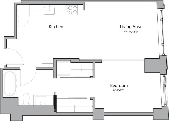 1 Bedroom, Shawmut Rental in Boston, MA for $3,140 - Photo 1