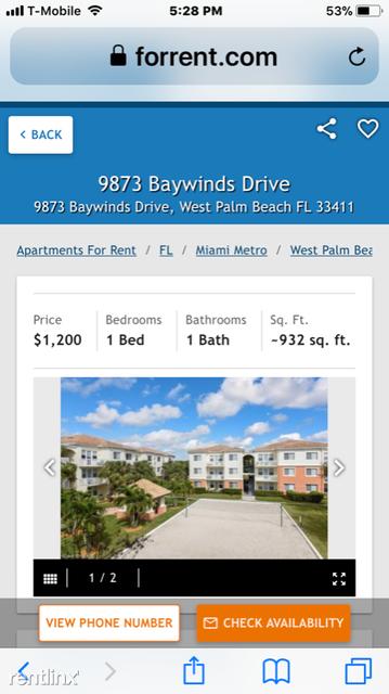 1 Bedroom, Mezzano Condominiums Rental in Miami, FL for $1,250 - Photo 1