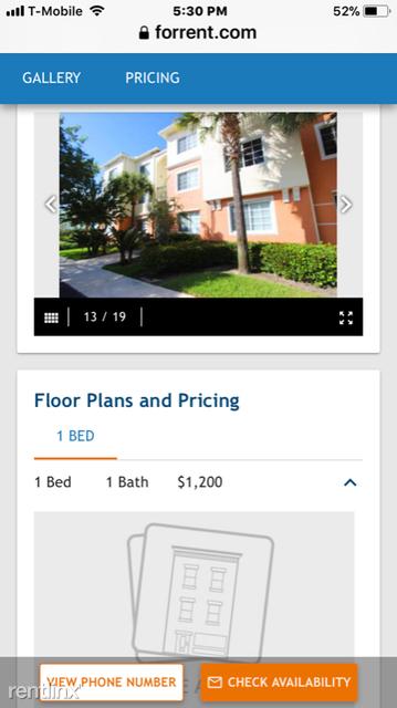 1 Bedroom, Mezzano Condominiums Rental in Miami, FL for $1,275 - Photo 2