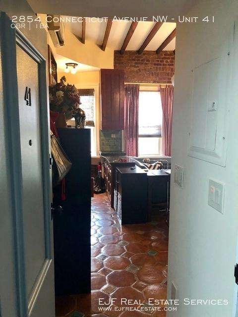 Studio, Woodley Park Rental in Washington, DC for $1,600 - Photo 2