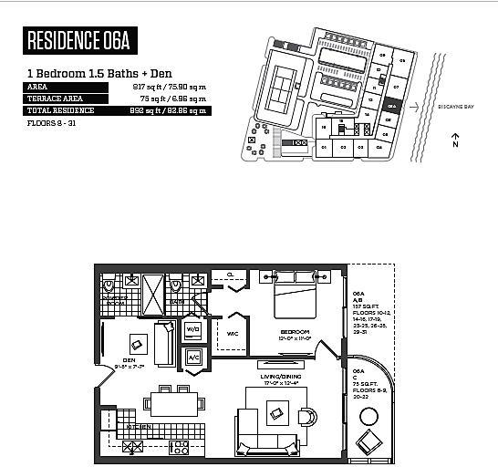 1 Bedroom, Midtown Miami Rental in Miami, FL for $2,500 - Photo 2