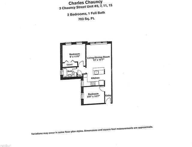 1 Bedroom, Neighborhood Nine Rental in Boston, MA for $2,995 - Photo 1