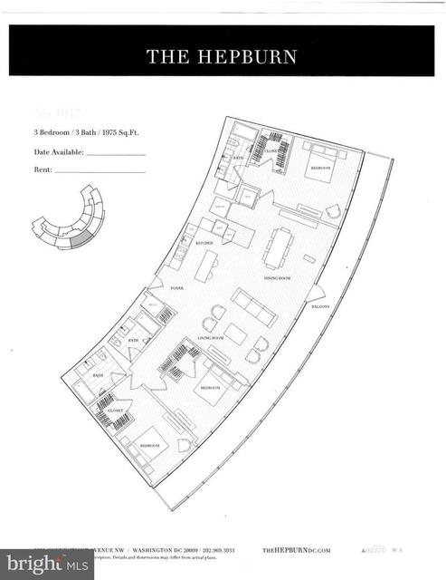 3 Bedrooms, Adams Morgan Rental in Washington, DC for $14,500 - Photo 2