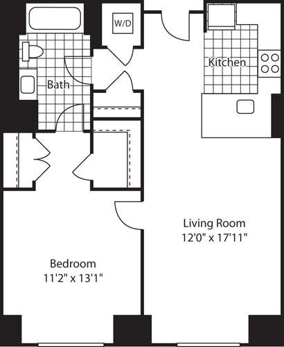 1 Bedroom, Kendall Square Rental in Boston, MA for $3,204 - Photo 1