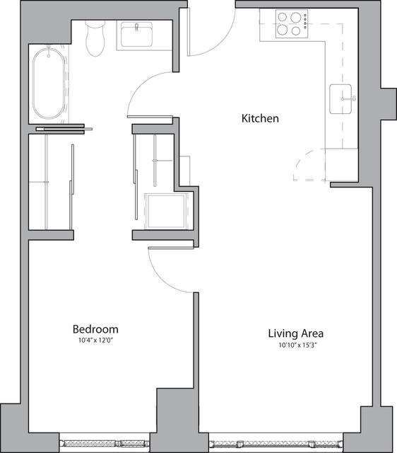 1 Bedroom, Shawmut Rental in Boston, MA for $3,360 - Photo 1