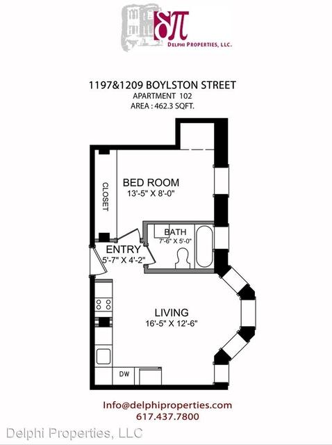 1 Bedroom, West Fens Rental in Boston, MA for $1,975 - Photo 2