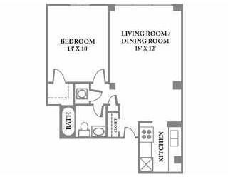 1 Bedroom, Midtown Rental in Atlanta, GA for $1,325 - Photo 2