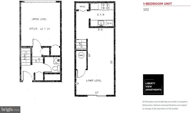 1 Bedroom, Fitler Square Rental in Philadelphia, PA for $1,535 - Photo 2