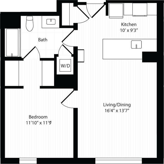 1 Bedroom, Harrison Lenox Rental in Boston, MA for $3,305 - Photo 1