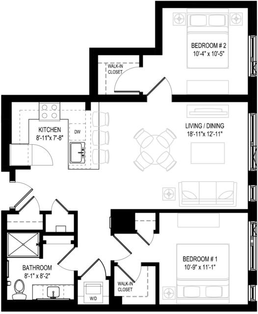 2 Bedrooms, Central Maverick Square - Paris Street Rental in Boston, MA for $3,409 - Photo 1