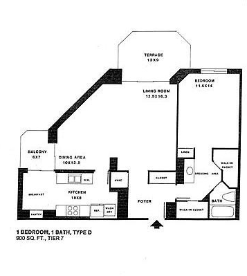 1 Bedroom, Radnor - Fort Myer Heights Rental in Washington, DC for $2,350 - Photo 2