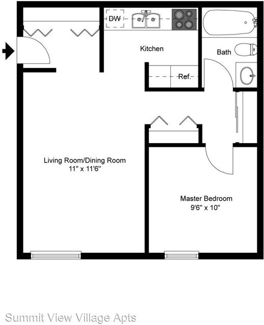 1 Bedroom, Golden Rental in Denver, CO for $1,265 - Photo 2