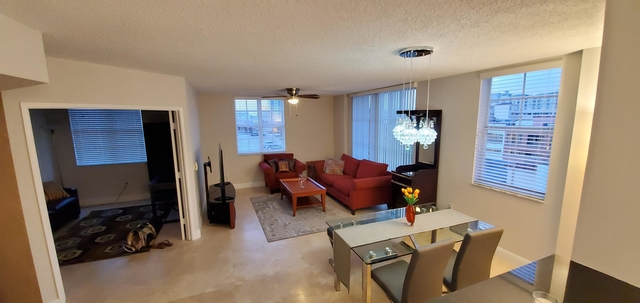 2 Bedrooms, Courtyards in Cityplace Condominiums Rental in Miami, FL for $4,000 - Photo 1