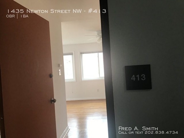 Studio, Columbia Heights Rental in Washington, DC for $1,450 - Photo 2