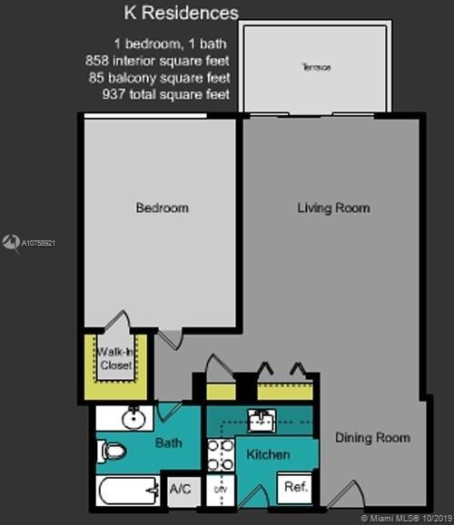 1 Bedroom, West Avenue Rental in Miami, FL for $2,199 - Photo 2