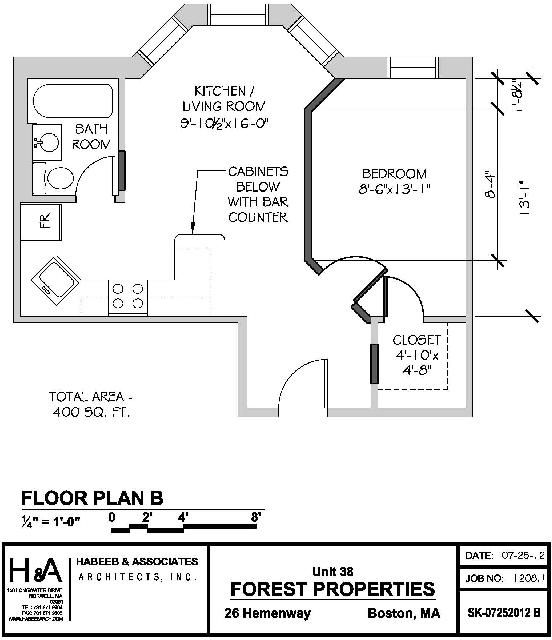 1 Bedroom, Fenway Rental in Boston, MA for $2,475 - Photo 1