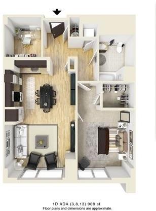 1 Bedroom, West Fens Rental in Boston, MA for $4,143 - Photo 1