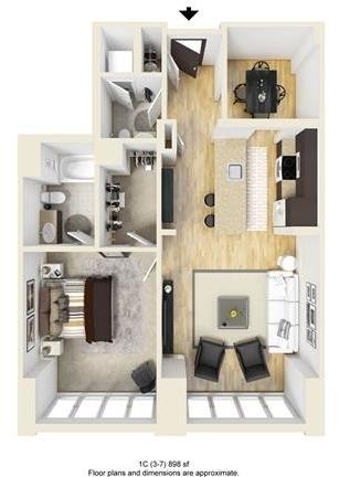 1 Bedroom, West Fens Rental in Boston, MA for $3,835 - Photo 1