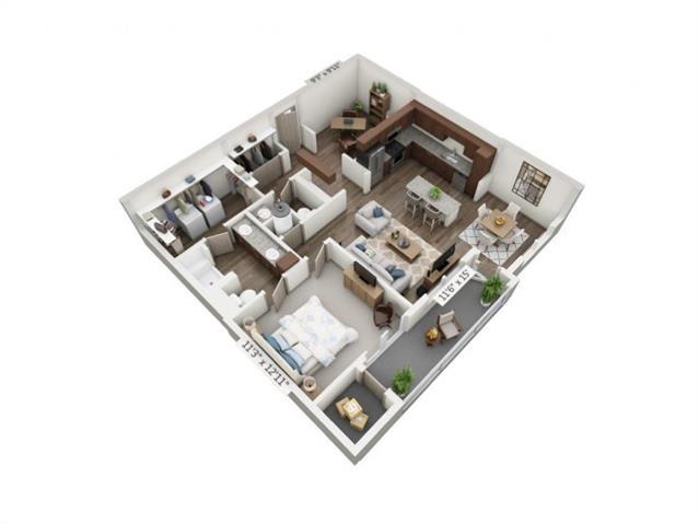 1 Bedroom, Arlington Rental in Dallas for $1,895 - Photo 2