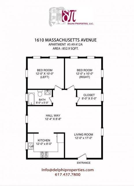 2 Bedrooms, Neighborhood Nine Rental in Boston, MA for $2,900 - Photo 1