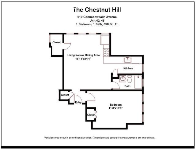 1 Bedroom, Chestnut Hill Rental in Boston, MA for $2,730 - Photo 2