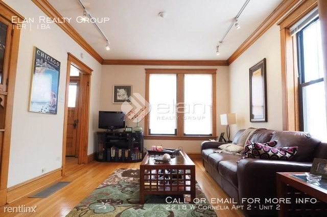 1 Bedroom, Roscoe Village Rental in Chicago, IL for $1,700 - Photo 2